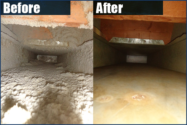 Air Duct Cleaning Before And After Quotes