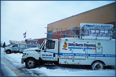 Dirty Ducts Cleaning Trucks Duct Cleaning Fleet Wisconsin